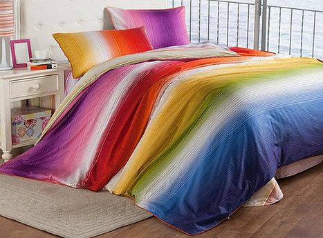 Rainbow Designs: 20 Colorful Home Decor Ideas | Designing Interiors | Scoop.it