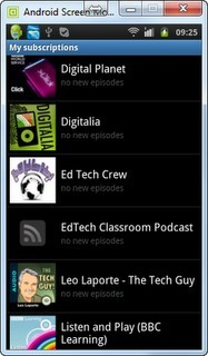 Listening to podcasts on Android using Google Reader | e-learning y aprendizaje para toda la vida | Scoop.it