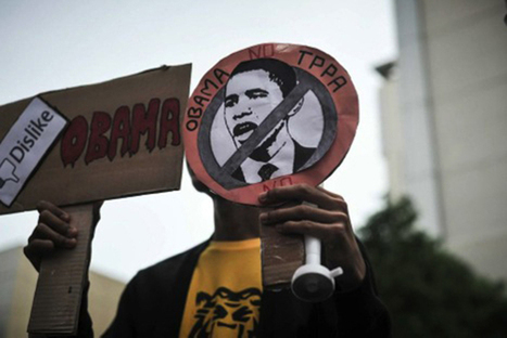Activists Tell President Obama: Asia-Pacific Is Not For Sale | Torpedo the TPP | Scoop.it