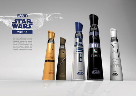 Evian Star Wars Edition - Water Bottles | Design, Photography & Social Media | Scoop.it