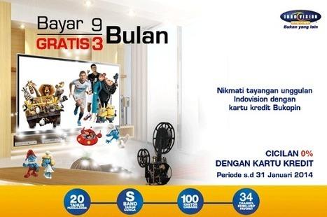 Promo Indovision Bersama Bank Bukopin | Indovision Online Dealer | Scoop.it