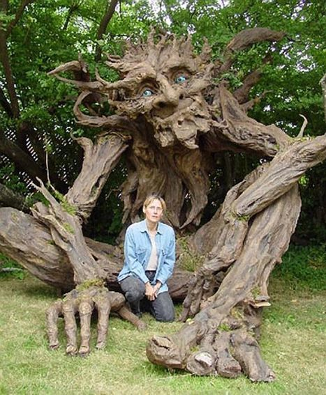 Artist Creates Amazing Tree Troll Inspired by Her Father | Arts & Culture by Docent.co | Scoop.it