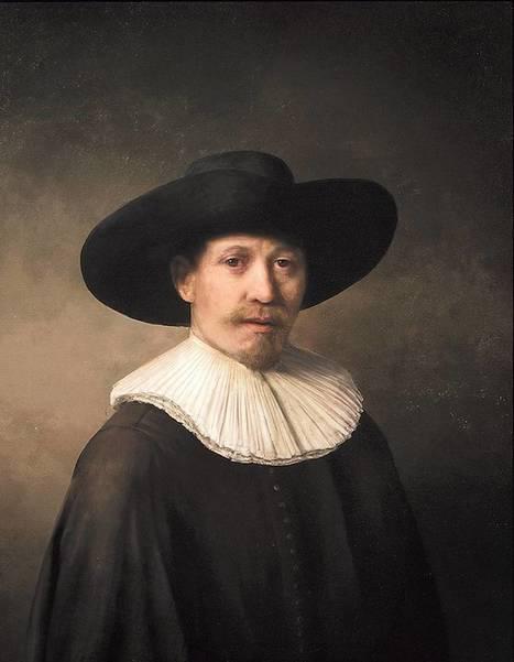 Les data s'attaquent à l'art : une peinture de Rembrandt imprimée en 3D grâce à des algorithmes | Formule | Scoop.it