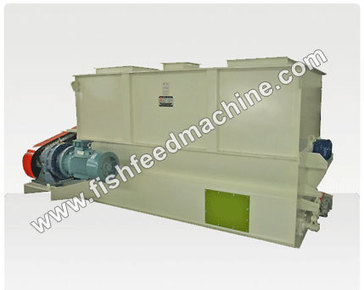 Double Paddle Feed Mixer/Ribbon Mixer for Animal Feed Production | high quality fish feed pellet machine | Scoop.it