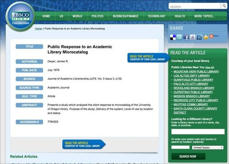 SearchReSearch: Going beyond the paywalls with paid databases | Special Libraries | Scoop.it