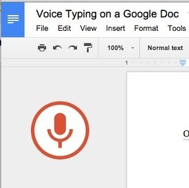 Voice Typing Comes to Google Docs ^ Teacher Tech - by Alice Keeler | Into the Driver's Seat | Scoop.it