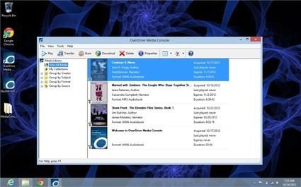 eRead Me Vegas: Windows 8 and two versions of OverDrive Media Console, What's the difference? | SCIS | Scoop.it