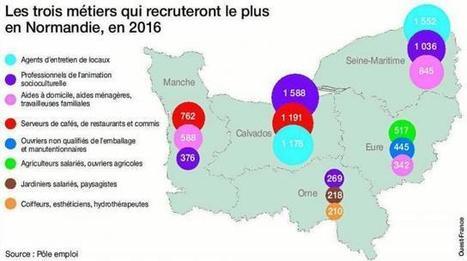 Emploi. 57 800 intentions d'embauche en Normandie   Emploi Calvados   Scoop.it