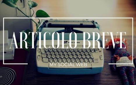 Come scrivere un articolo breve (ma efficace) | Blogging Freelance | Scoop.it