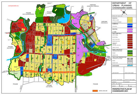 Chandigarh Master Development Plan 2031 Map - Master Plans India | Daddydealer - Real Estate News, Events, New Project Launches & Happenings | Scoop.it
