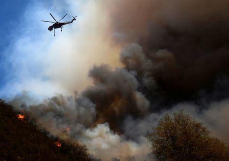 Californie : l'incendie de Sand, une «bête» qui dévore tout !   Planete DDurable   Scoop.it