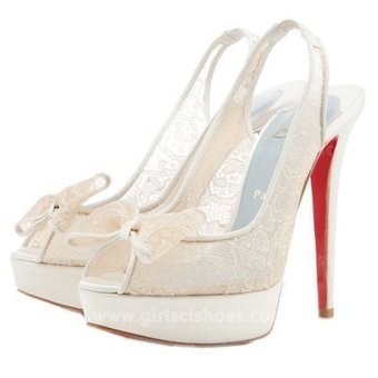 White 140mm Slingbacks Christian Louboutin Exclu Lace [Christian Louboutin Slingbacks Exclu Lace White] - $166.00 : Christian Louboutin 2013 Sale with Discount Price | Christian Louboutin Shoes | Scoop.it