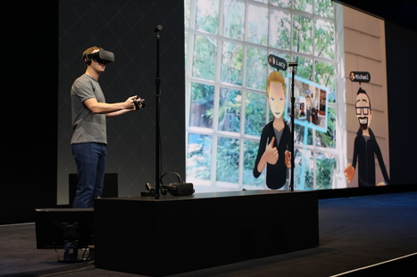 Facebook Shows Us The Future of Social VR  | 3D Virtual-Real Worlds: Ed Tech | Scoop.it