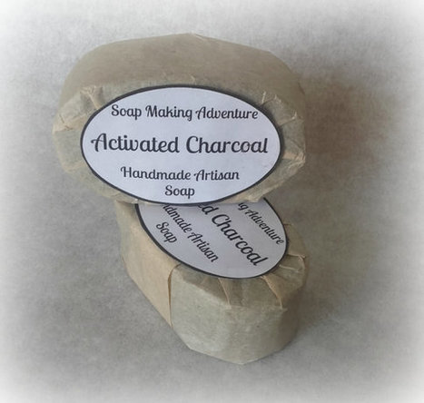 #Handmade #Soap with Activated Charcoal for Oily & Combination #Skin #soapmaking #madeingreece   Soap Making Adventure   Scoop.it
