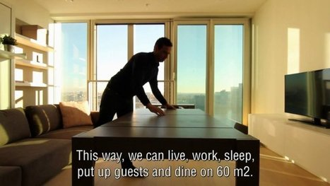 Watch a Teensy Micro-Apartment Transform Into a Five Room Suite | STEM Advance | Scoop.it