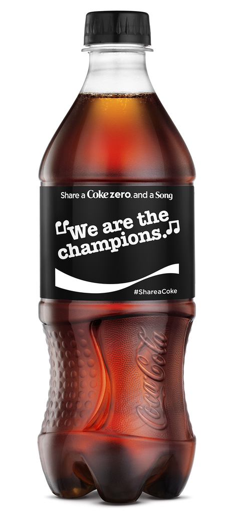 Share A Coke and A Song: Drinks Giant Adds Lyrics to Cans for Multi-Platform Campaign | audio branding | Scoop.it