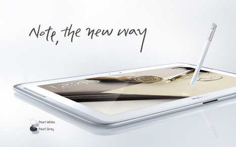 Samsung lance la tablette Galaxy Note 10.1 | Ardesi - HighTech | Scoop.it