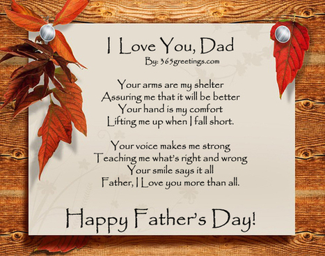 Happy Father's Day 2014 Poems, Poetry With Images, Pictures | Fathers Day 2014 Quotes, Wishes, Images, Clip Art, Cakes, Gift Ideas | Scoop.it