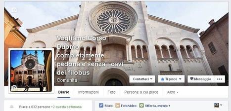 Le nostre pagine Facebook per partecipare alla vita della città | Modena Come | Smart city e smart community | Scoop.it
