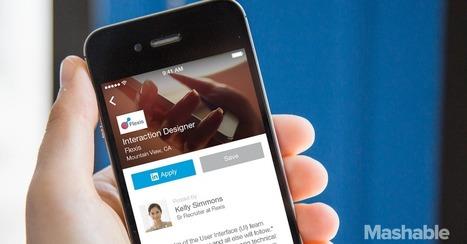 LinkedIn Unveils New App Dedicated to Job Searches | Social Media, SEO, Mobile, Digital Marketing | Scoop.it