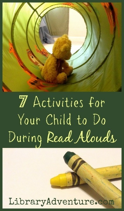 7 Activities for Your Child to Do During Read Alouds   All things Elementary... Reading and Writing   Scoop.it