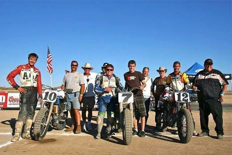 #TBT To winning at Willow Springs Flat Track in 2011 with my little bro Andy tun...   California Flat Track Association (CFTA)   Scoop.it