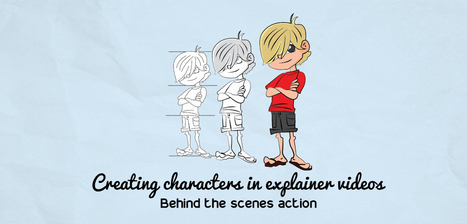 Creating characters in explainer videos: Behind the scenes action | PitchWorx | Presentation Design Services and Character Animation Video | Scoop.it