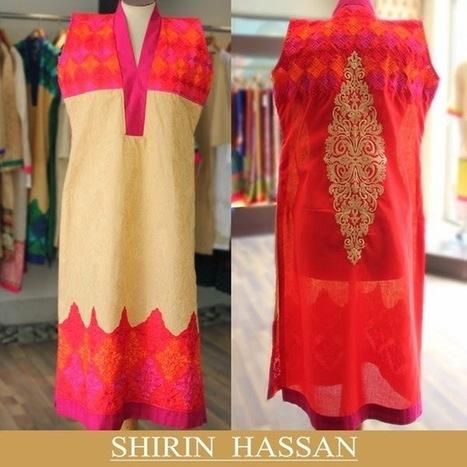 Summer Wear Shalwar Kameez Collection For Girls Vol-2 By Shirin Hassan 2014 | Women Fashion | Women fashion | Scoop.it