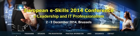 European e-Skills 2014 Conference | e-Leadership & IT Professionalism | Pedalogica: educación y TIC | Scoop.it