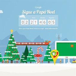 Google lanza un rastreador para no perder de vista los movimientos de Papá Noel durante estas navidades   papai noel   Scoop.it