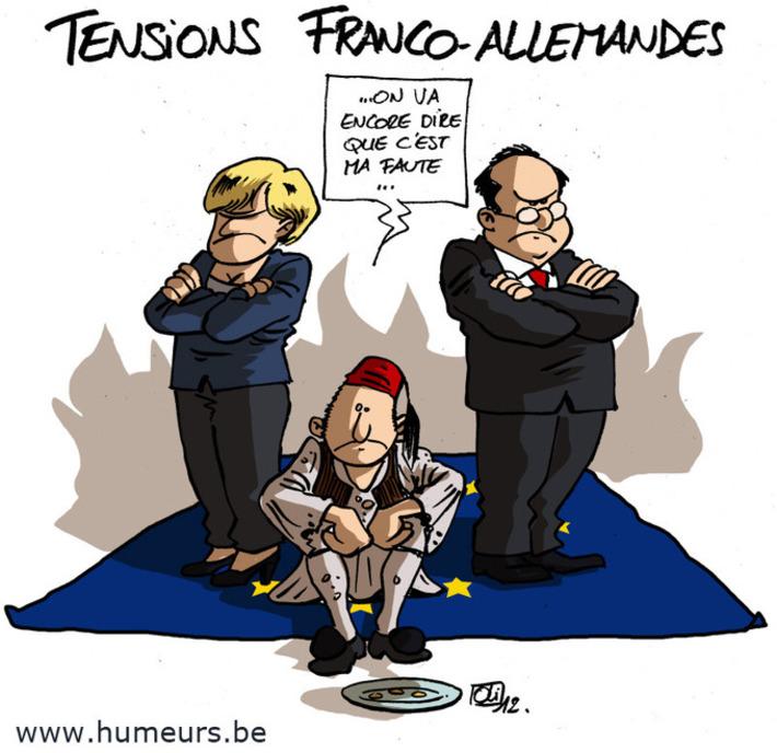 La France et l'Allemagne ne s'accordent pas sur la Grèce | Baie d'humour | Scoop.it