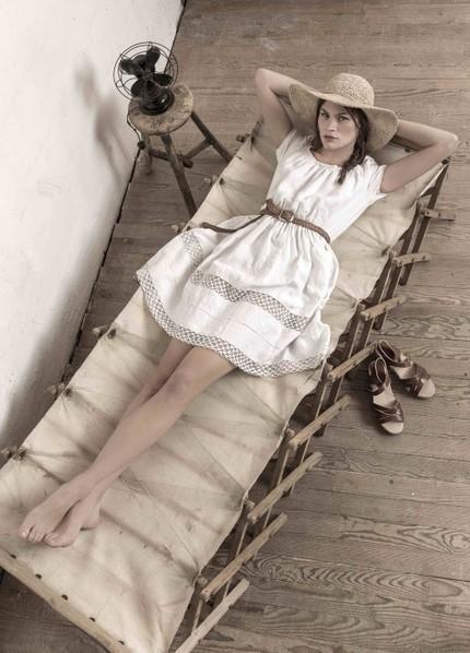 Les robes en vieux draps de Minacrew | Mes coups de coeur mode (si possible pour enfants) | Scoop.it