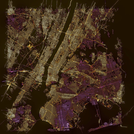 Data & GIS tips: Streets of Paris Colored by Orientation   R for Journalists   Scoop.it