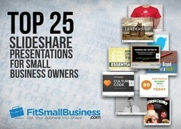 Top 25 SlideShare Presentations For Small Business Owners - | Strategic Communications for Cardiff SMEs | Scoop.it
