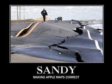 Troll du jour, Apple devrait remercier Sandy ! | Apple World | Scoop.it