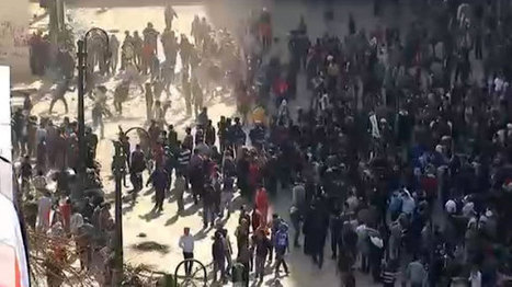 Live Updates: Clashes mark anniversary of Egypt's revolution | Égypt-actus | Scoop.it