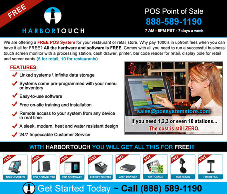 FREE Point of Sale POS System for Restaurant, Pizza or Retail (Las ... | H&L Australia | Scoop.it