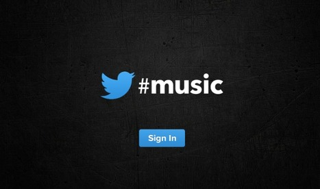 Twitter's Music Site Is Up, And It's - Wait, You Can't Use It Yet | Music business | Scoop.it