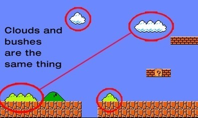 CDKeyhouse - Did you know The bushes and clouds in Super Mario Bros. are the same thing, just different colors. | Gaming Facts and News | Scoop.it