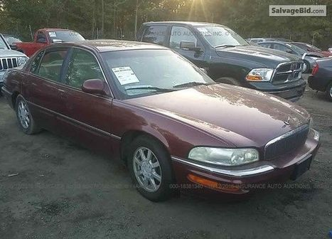 2002 Buick Park Avenue on online auction  | Salvage Auto Auction | Scoop.it