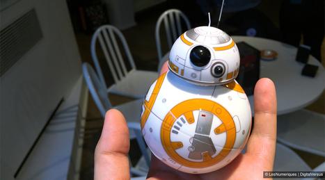 IFA 2015 – Sphero BB-8: le jouet Star Wars devenu star du salon | Une nouvelle civilisation de Robots | Scoop.it