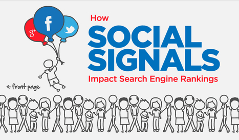 How Social Media Affects Search Engine Rankings [Infographic] | SEO Tips & Updates | Scoop.it