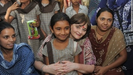 Cherie Blair: 'Don't drop gender from equality fight' - CNN International   African SRH&R   Scoop.it