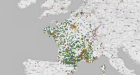 La carte de France des UTOPIES concrètes | Le BONHEUR comme indice d'épanouissement social et économique. | Scoop.it
