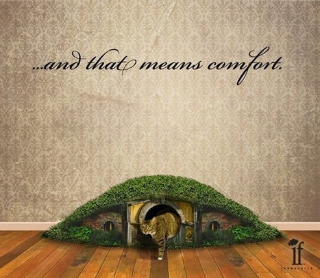 The Hobbit Hole Litter Box [Pic] | All Geeks | Scoop.it