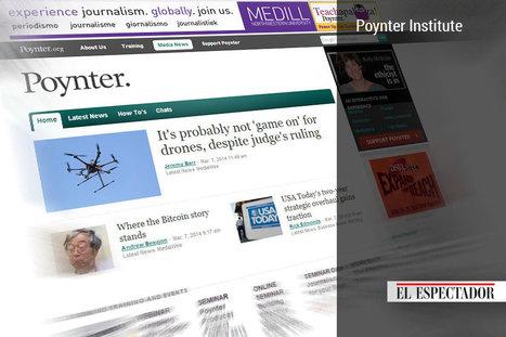 22 sitios web que periodistas y estudiantes de periodismo deberían consultar | Periodismo | Scoop.it