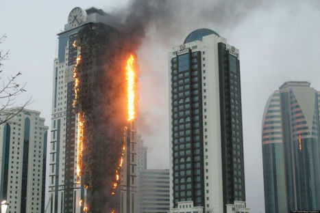 Stop Fire Spreading Up, Up and Away   UK Fire Prevention   Scoop.it