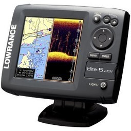 Lowrance Elite-5 DSI Chartplotter/Fishfinder Review | Fish Finder Advisor | Scoop.it