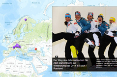 2014 Winter Olympics Maps | Site Marker Weekly | Scoop.it