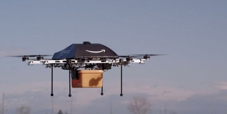 Amazon Reveals It Wants To Deploy Delivery Drones. No Joke. | Robolution Capital | Scoop.it